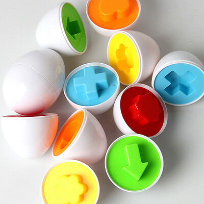 Baby Kids  Simulation Eggs Puzzle Toy Learning Development Educational Toys HT