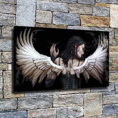 "16""x26""Angel Wings HD Canvas prints Painting Home Decor Picture Room Wall art"