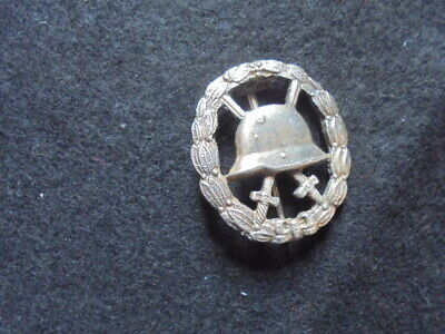 Ww1 German  Silver Wound Badge