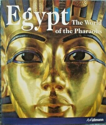 Old Ancient Egypt Antiquity Book 538 Pages Illustrations  World Of Pharaohs