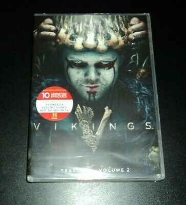 Vikings Fifth Season 5 Volume 2 on DVD - BRAND NEW & FACTORY SEALED