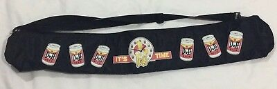 It's Duff Time 6 Pack Stubby Holder,It's Duff Time 6 Pack Stubby Holder,Simpsons