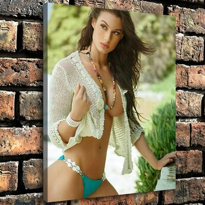 """12""""x16"""" Cyan Green Sexy Photo HD Canvas prints Home decor Room Wall Art Pictures"""