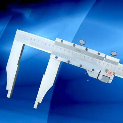 0-500mm Vernier Caliper stainless fine adjustment 90mm jaw depth
