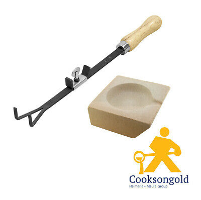 Cooksongold Square Scorifiers for Soldering and Smelting