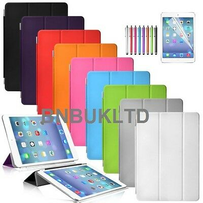 Ultra thin stand Smart Magnetic Leather Case Cover sleep wake