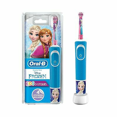 Oral-B Stages Power Kids Electric Rechargeable Toothbrush Featuring Frozen Ch...