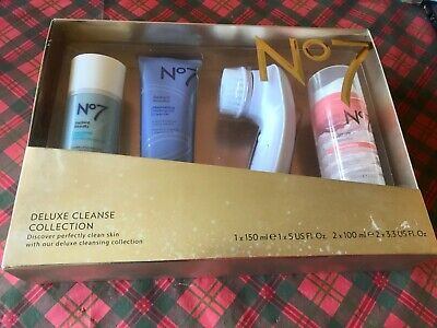 Boots No7 deluxe cleanse collection