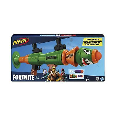Nerf Fortnite RL Blaster -- Fires Foam Rockets -- Includes 2 Official Nerf Fo...