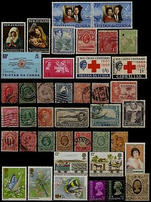 Kleines Lot British Commonwealth Selection GB Australien Kanada East Africa u.a.