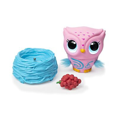 Owleez 6053359 Flying Baby Owl Interactive Toy with Lights and Sounds (Pink),...