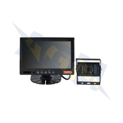 """Durite 0-776-66, 7"""" Colour CCTV Vehicle Reversing System with Sound, 12-24v"""