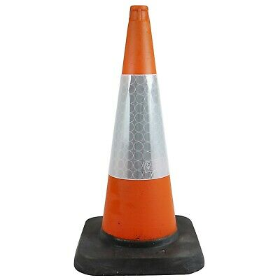 750mm Heavy Duty Large Traffic Cones - Self Weighted - 2 Piece Design