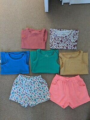 Next Shorts And Vests Age 4-5 Girls