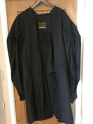 """Ede and Ravenscroft Quality Graduation Gown And University Of London Hood 49"""""""