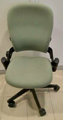 Steelcase leap chair seat office furniture ergonomic mobile metal fabric mobile