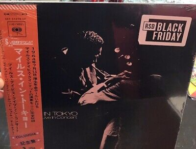 """Miles Davis Live in Tokyo Concert - 12"""" Record Store Day BLACK FRIDAY 2019"""