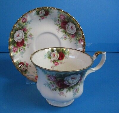 Royal Albert Celebration Cup & Saucer Excellent Condition Will Combine Shipping