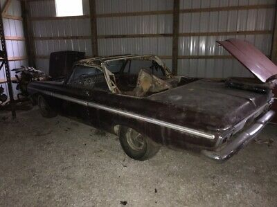 1964 Plymouth Fury Fury 1964 Plymouth Fury Factory 426 Street Wedge 4 Speed Convertible Project