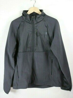 The North Face Men's Fleece Jacket Zip Up Charcoal Gray size LG
