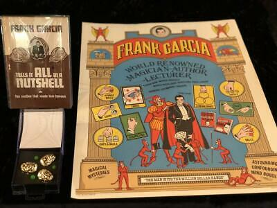 Rare Frank Garcia Poster And Book Lot Excellent Condition