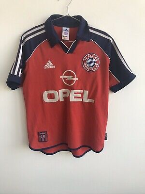 Vintage Bayern Munich Home Football Shirt 1999/2000 Adidas Youths Rare