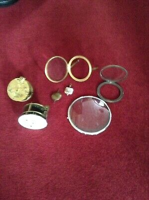 Various Antique Clock Parts