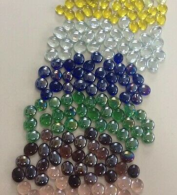 301 Mixed Glass Nuggets Pebbles For Craft Display Vase Display Or  Making Mosaic