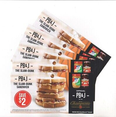 15x Save $1 on Smuckers Jam & 15x Save $1 on Jif Peanut Butter Coupons
