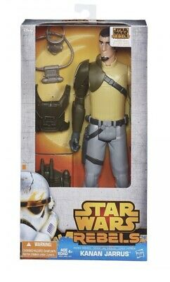 Disney Star Wars Rebels Kanan Jarrus 12 Inch Hero Series ACTION FIGURE