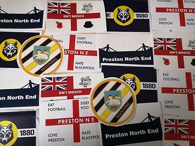 60 Preston Mooching Stickers,