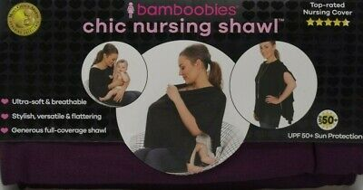 Bamboobies Chic Nursing Shawl - Blackberry