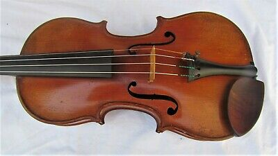 Fine FRENCH violin from the PIERRE HEL shop, 1928