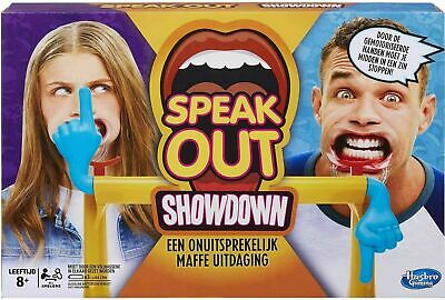 Hasbro Face Showdown Board Game Dual Challenge Family Game For Kids Xmas Gift