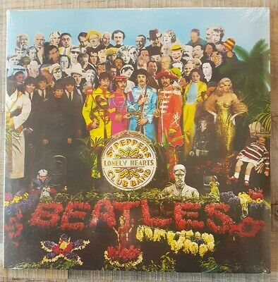THE BEATLES ‎Sgt. Pepper's Lonely Hearts Club Band 180g VINYL LP NEW SEALED