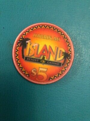 Island Casino Limited Edition Casino Chip Issued 2000