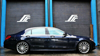 """2017 Mercedes-Benz S-Class S 550 Sedan 2017 Mercedes Benz S550 AMG Sport 20"""" AMG Wheels 1 Owner Financing Available"""