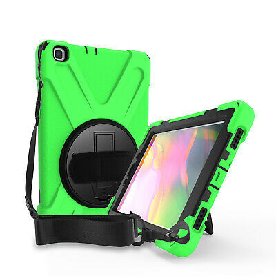 Heavy Duty Case, Glass Screen Protector Cover Case for Samsung Galaxy Tab A 8.0