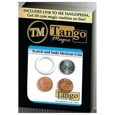 Scotch And Soda Mexican Coin (D0050) by Tango - Magic Tricks