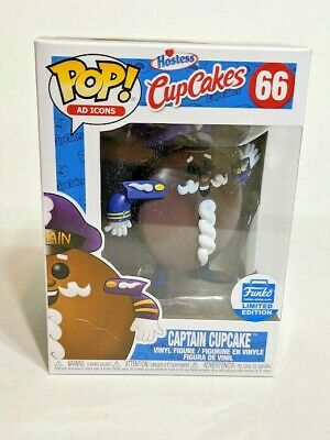 Funko Pop! Ad Icons Hostess Cupcakes Captain Cupcake #66 Funko Shop Exclusive