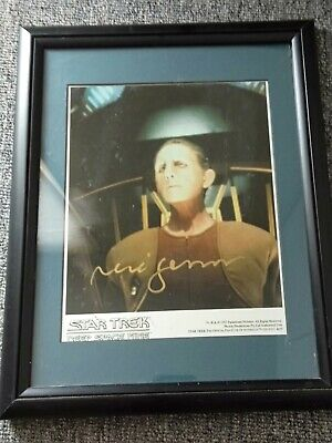 Star Trek Autograph photo of Rene Auberjonois