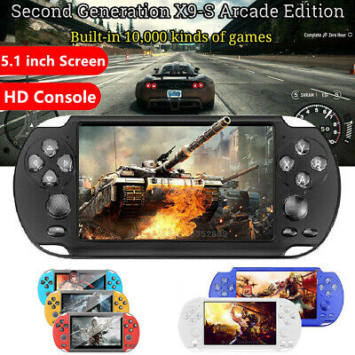 "PSP X9 8G Retro Handheld Game Console 5"" Portable Video,Game Player with Camera."