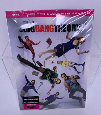 The Big Bang Theory: The Complete Eleventh Season 11 (DVD, 2018) New!!!