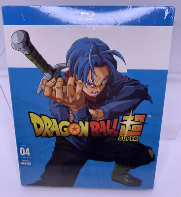 Dragon Ball Super Part 4 Episodes 40-52 Blu-Ray 2018 New Sealed Package