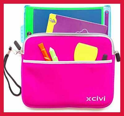 Pink Xcivi Neoprene Protective Carry Case for Boogie Board Magic Sketch Kit