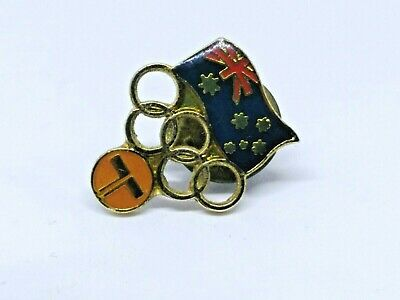 Hard To Find Telephone Telecom Olympic Pin /  Badge