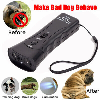 Ultrasonic Double-head Laser Dog Chaser Dog Training Remote Pet Supplies