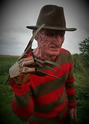 Freddy Krueger Movie Replica Full Costume Very high quality & Standard