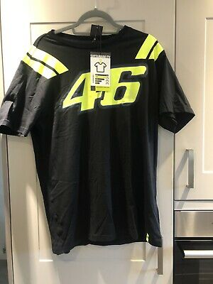 *29 VALENTINO ROSSI MEN'S OFFICIAL 2019 RACE T-SHIRT VR46 - Sz - S
