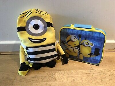 Minions Bag And Lunch Box